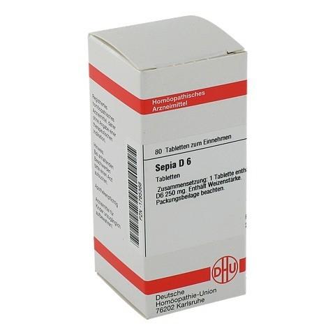 SEPIA D 6 Tabletten 80 Stück N1
