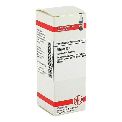 SILICEA D 8 Dilution 20 Milliliter N1