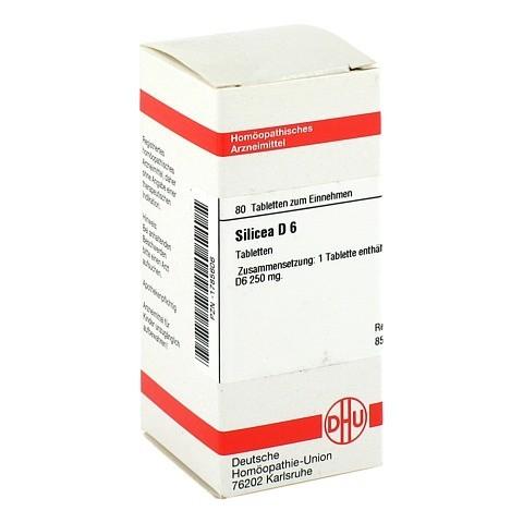 SILICEA D 6 Tabletten 80 Stück N1