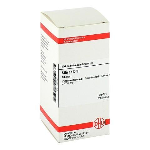 SILICEA D 3 Tabletten 200 Stück N2