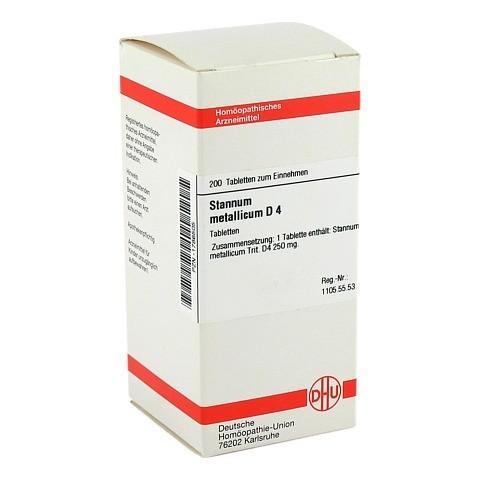 STANNUM METALLICUM D 4 Tabletten 200 Stück N2