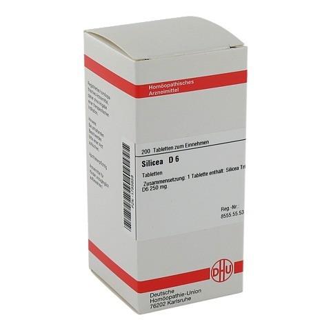 SILICEA D 6 Tabletten 200 Stück N2