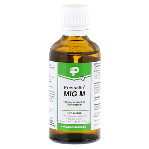 PRESSELIN MIG M Tropfen 50 Milliliter N1