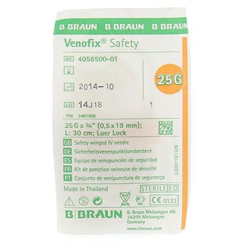 VENOFIX Safety Venenpunkt.25 G 0,5 mm 30 cm 1 Stück
