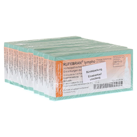 RUFEBRAN lympho Ampullen 100 Stück N3