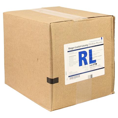 RINGER LACTAT Lösung Inf.-Lsg.Plastik 10x500 Milliliter N2