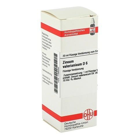 ZINCUM VALERIANICUM D 6 Dilution 20 Milliliter N1