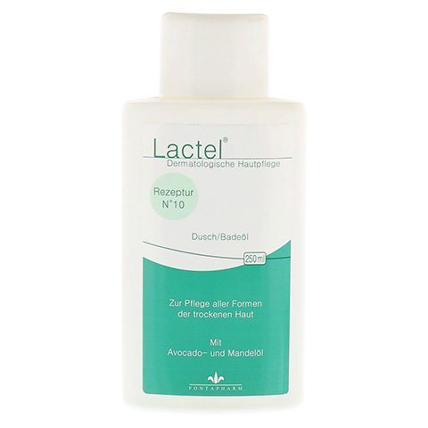 LACTEL Nr. 10 Dusch/Badeöl 250 Milliliter