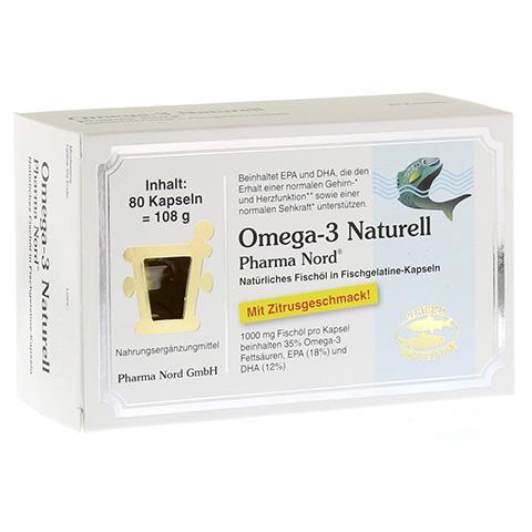 OMEGA 3 Naturell Pharma Nord Kapseln 80 Stück