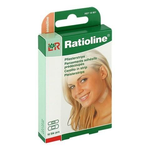 RATIOLINE sensitive Pflasterstrips in 2 Größen 10 Stück