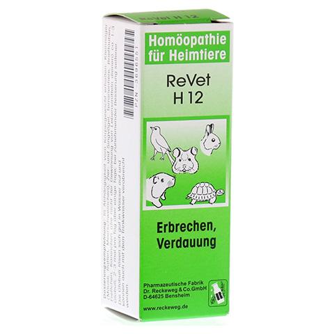 REVET H 12 Globuli f.Heimtiere 10 Gramm