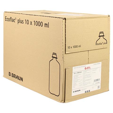 GLUCOSE 5% B.Braun Ecoflac Plus 10x1000 Milliliter N2