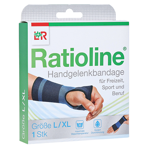 RATIOLINE active Handgelenkbandage Gr.L/XL 1 Stück