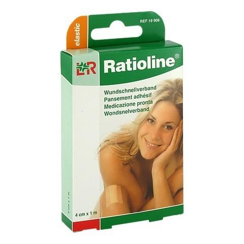 RATIOLINE elastic Wundschnellverband 4 cmx1 m 1 Stück