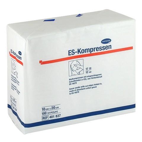 ES-KOMPRESSEN unsteril 10x20 cm 12fach 100 Stück