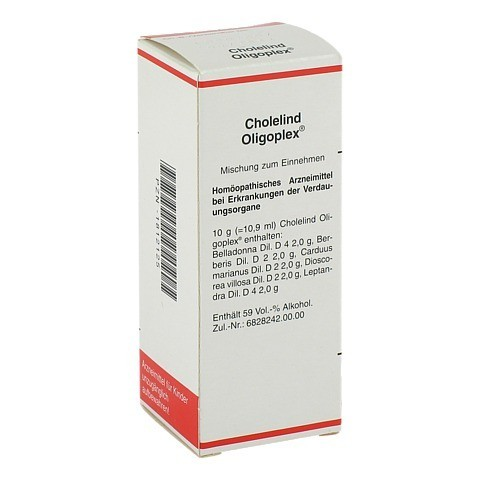 CHOLELIND Oligoplex Tropfen 50 Milliliter N1