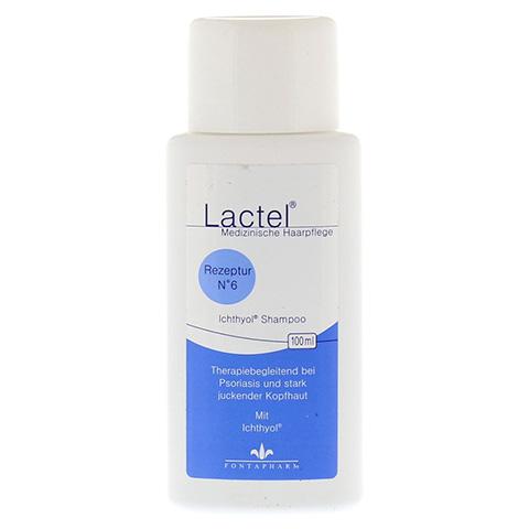 LACTEL Nr. 6 Ichthyol Shampoo 100 Milliliter