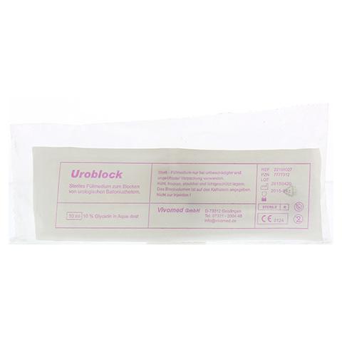 BLOCKWASSERSPRITZE vorgef.10 ml Glycerinlsg.steril 1 Stück