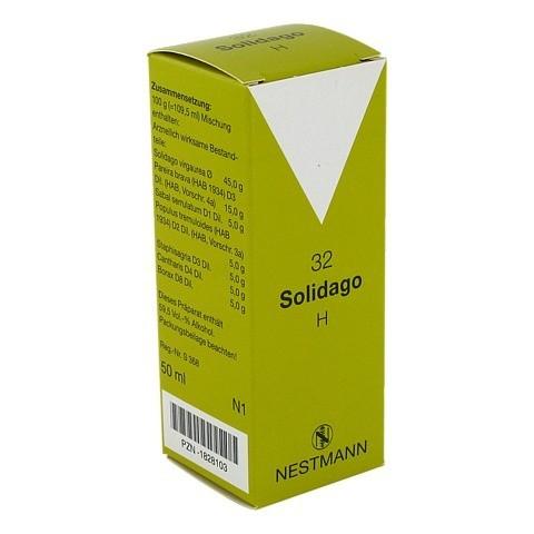 SOLIDAGO H 32 Tropfen 50 Milliliter N1