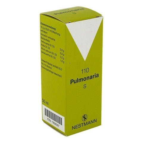 PULMONARIA S 110 Tropfen 50 Milliliter N1