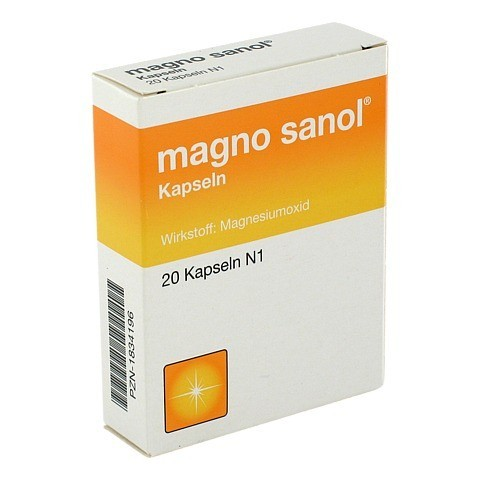 MAGNO SANOL Hartkapseln 20 Stück N1