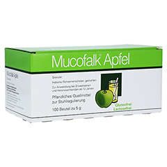 Mucofalk Apfel Beutel 100 Stück