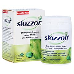 Stozzon Chlorophyll-Dragees gegen Mund- und Körpergeruch 200 Stück