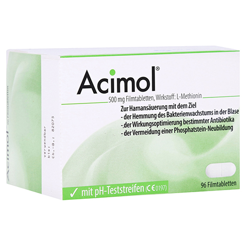 ACIMOL mit pH Teststreifen Filmtabletten 96 Stück N3