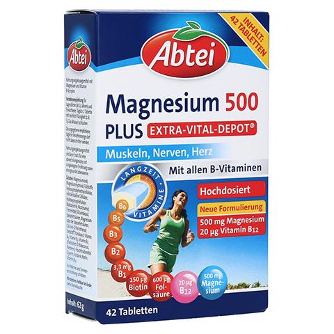 Abtei Magnesium 500 Plus 42 Stück