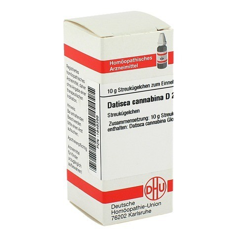 DATISCA cannabina D 2 Globuli 10 Gramm N1