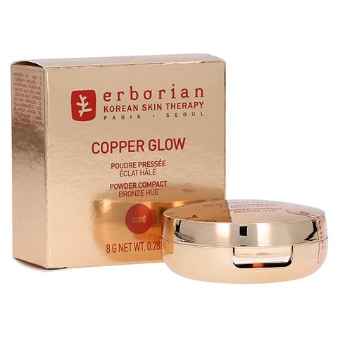erborian COPPER GLOW Doré - Kompaktpuder mit Leuchteffekt 8 Gramm