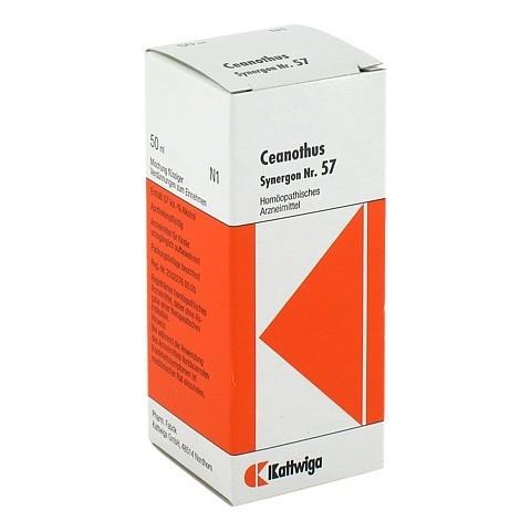 SYNERGON KOMPLEX 57 Ceanothus Tropfen 50 Milliliter N1