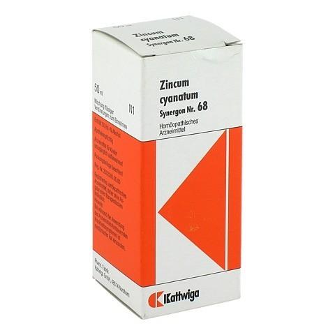 SYNERGON KOMPLEX 68 Zincum cyanatum Tropfen 50 Milliliter