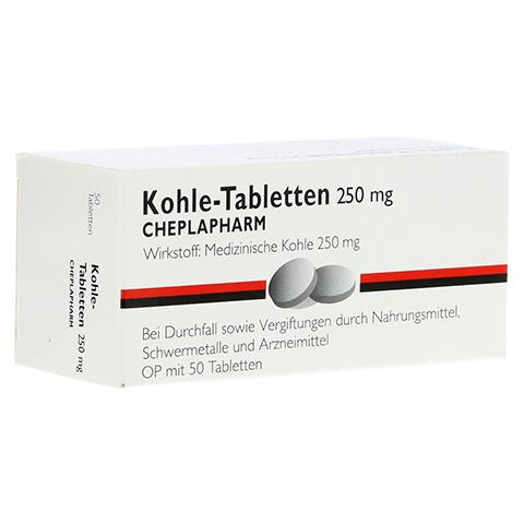 Kohle-Tabletten 250mg 50 Stück