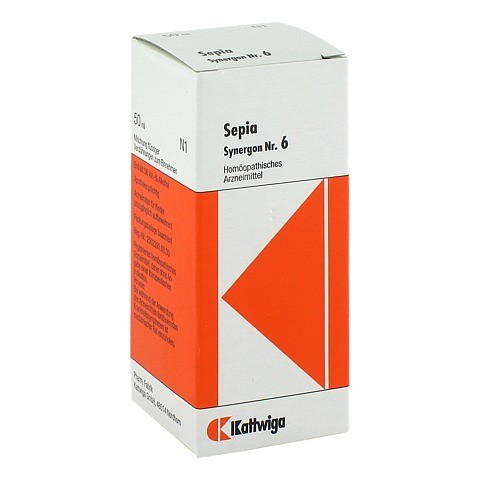 SYNERGON KOMPLEX 6 Sepia Tropfen 50 Milliliter N1