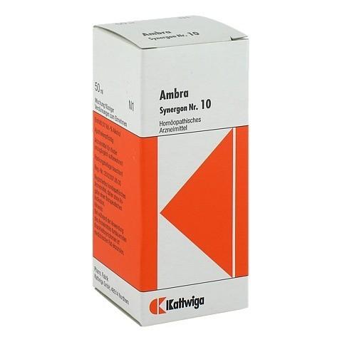 SYNERGON KOMPLEX 10 Ambra Tropfen 50 Milliliter