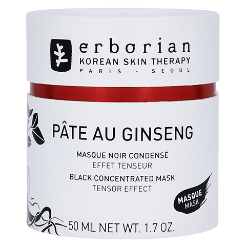 erborian PÀTE AU GINSENG MASKE - Black Concentrated Mask 50 Milliliter