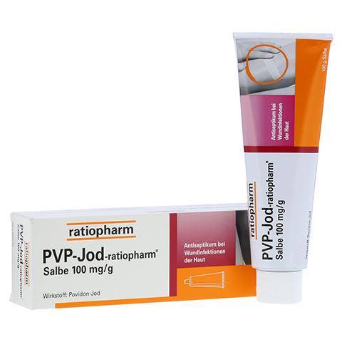 PVP-JOD-ratiopharm Salbe 100 Gramm N2