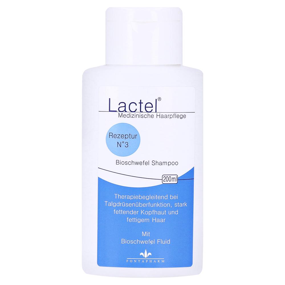 Lactel Nr 3 Shampoo Gegen Stark Fettende Kopfhaut 200 Milliliter