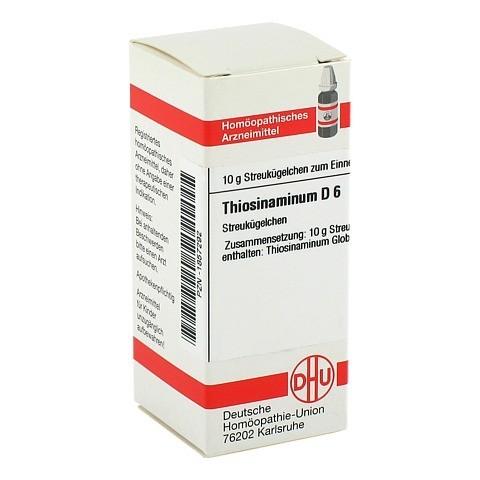 THIOSINAMINUM D 6 Globuli 10 Gramm N1