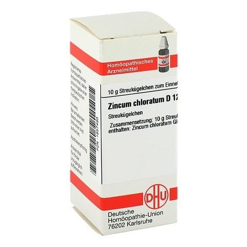 ZINCUM CHLORATUM D 12 Globuli 10 Gramm N1