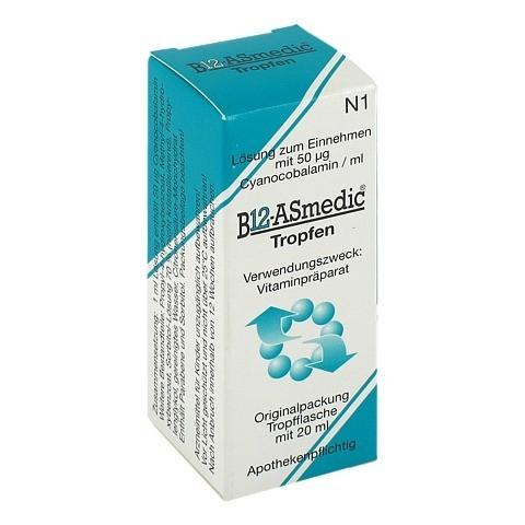 B12 ASMEDIC Tropfen zum Einnehmen 20 Milliliter N1