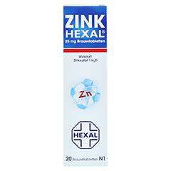 Zink HEXAL 20 Stück N1 - Vorderseite