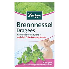 KNEIPP Brennessel Dragees 90 Stück - Vorderseite