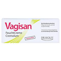 Vagisan Feuchtcreme Cremolum 16 Stück - Vorderseite