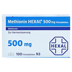 METHIONIN HEXAL 500 mg Filmtabletten 100 Stück N3 - Vorderseite
