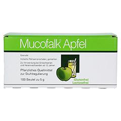 Mucofalk Apfel Beutel 100 Stück - Vorderseite