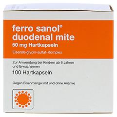 Ferro sanol duodenal mite 50mg 100 Stück N3 - Vorderseite