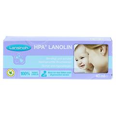 Lansinoh HPA Lanolin 40 Milliliter - Vorderseite