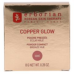 erborian COPPER GLOW Doré - Kompaktpuder mit Leuchteffekt 8 Gramm - Vorderseite